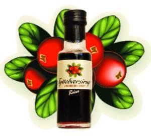 Bilde av Reisa tyttebærsirup 100 ml